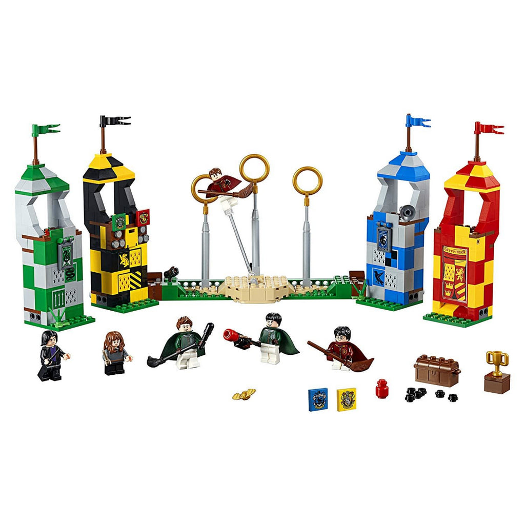 LEGO 75956 Harry Potter Quidditch Match Building Set - Maqio