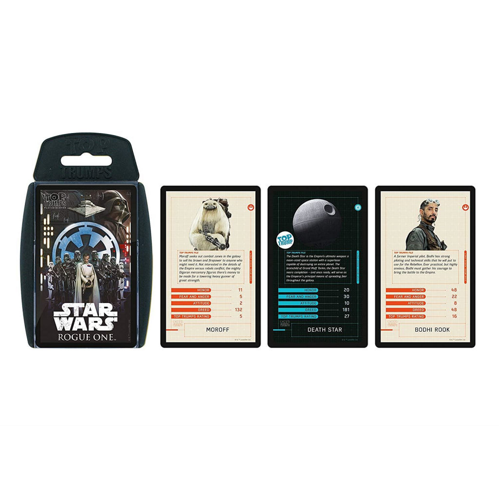 Top Trumps Star Wars Rogue One Card Game - Maqio