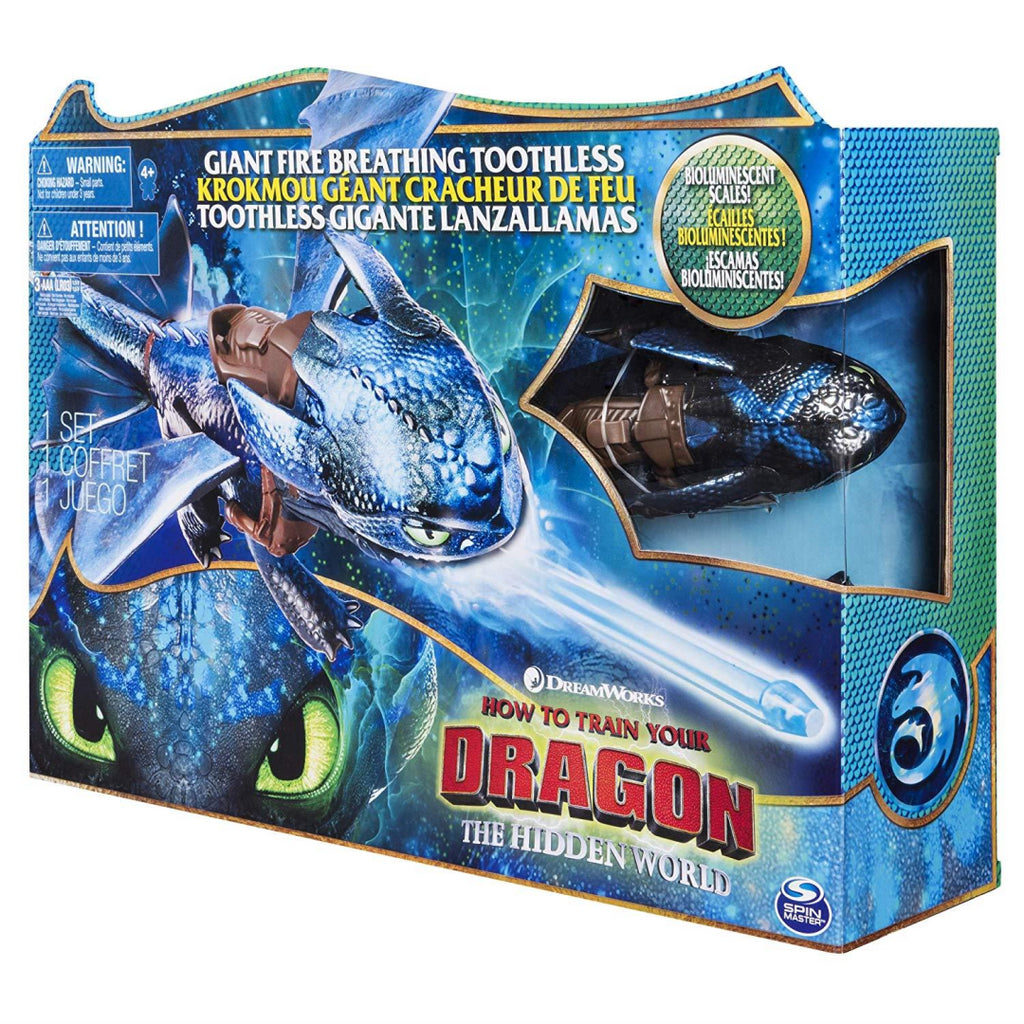 Dragons 6045436 DreamWorks Giant Toothless 20 Inch - Maqio