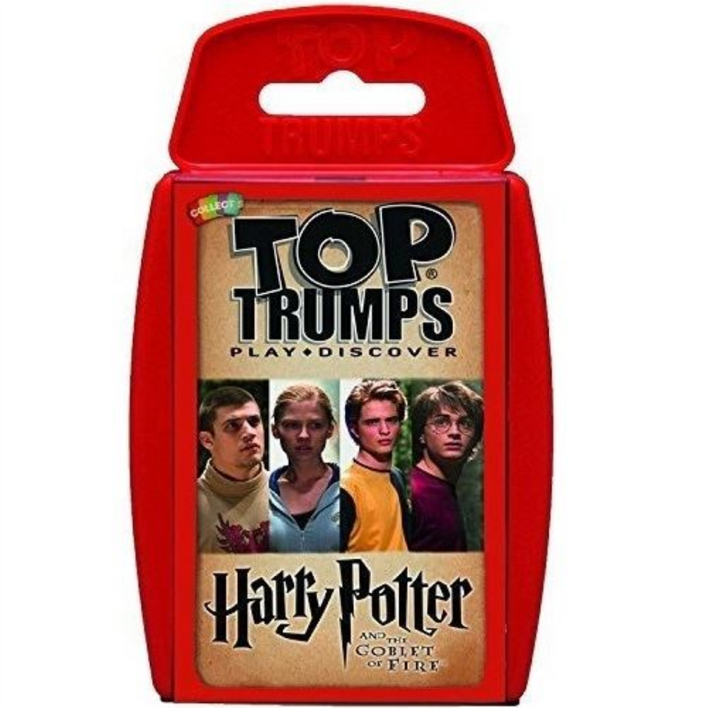 Top Trumps Harry Potter and the Goblet of Fire Card Game - Maqio