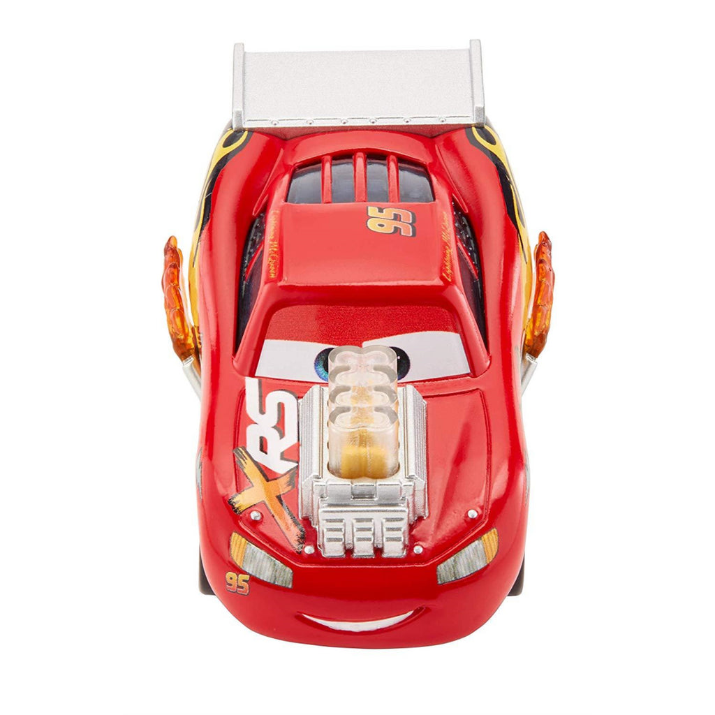 Disney Pixar's Cars XRS Drag Racing Lightning McQueen 1:55 Scale Die-cast Vehicle - Maqio