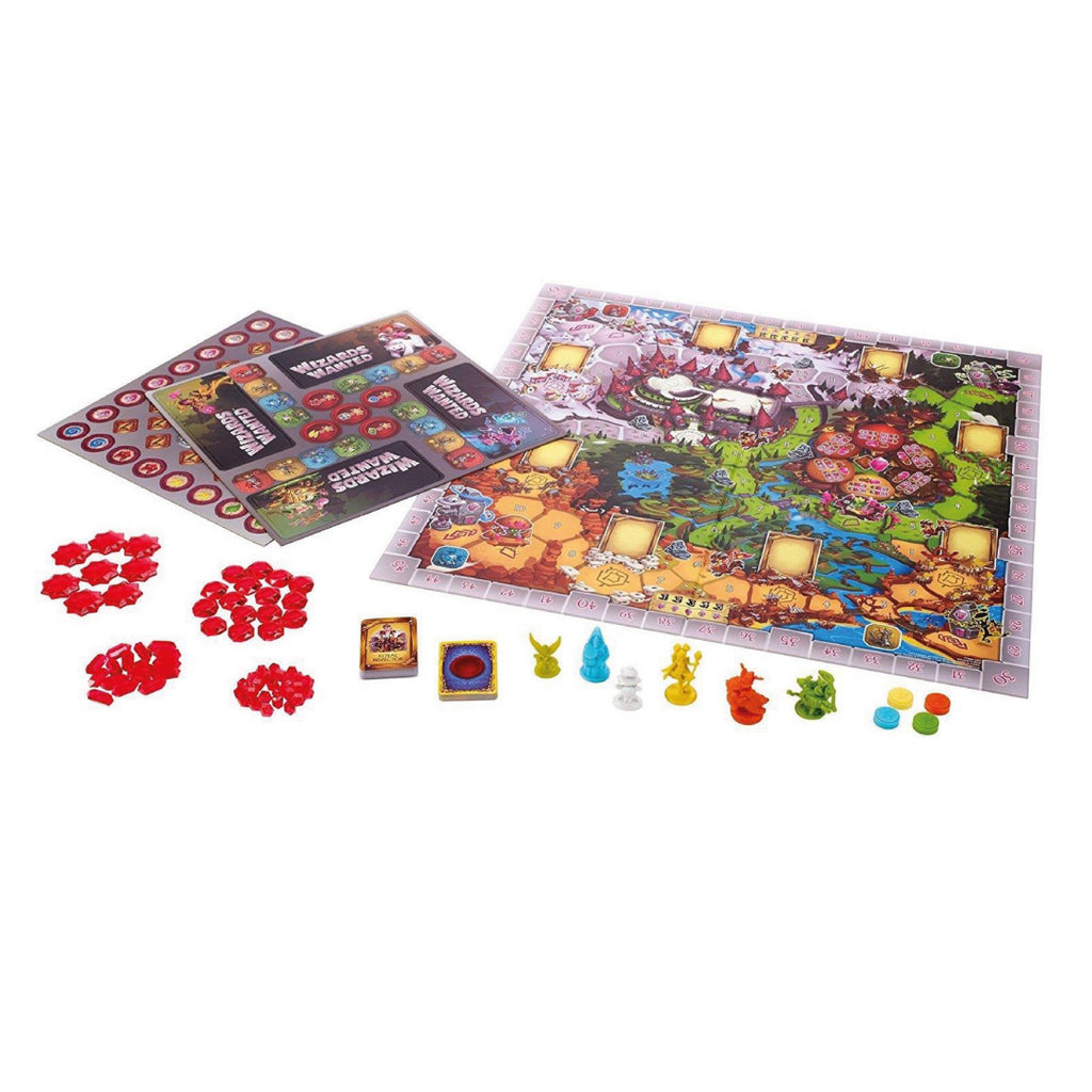 Mattel Wizards Wanted FPD60 Board Game - Maqio
