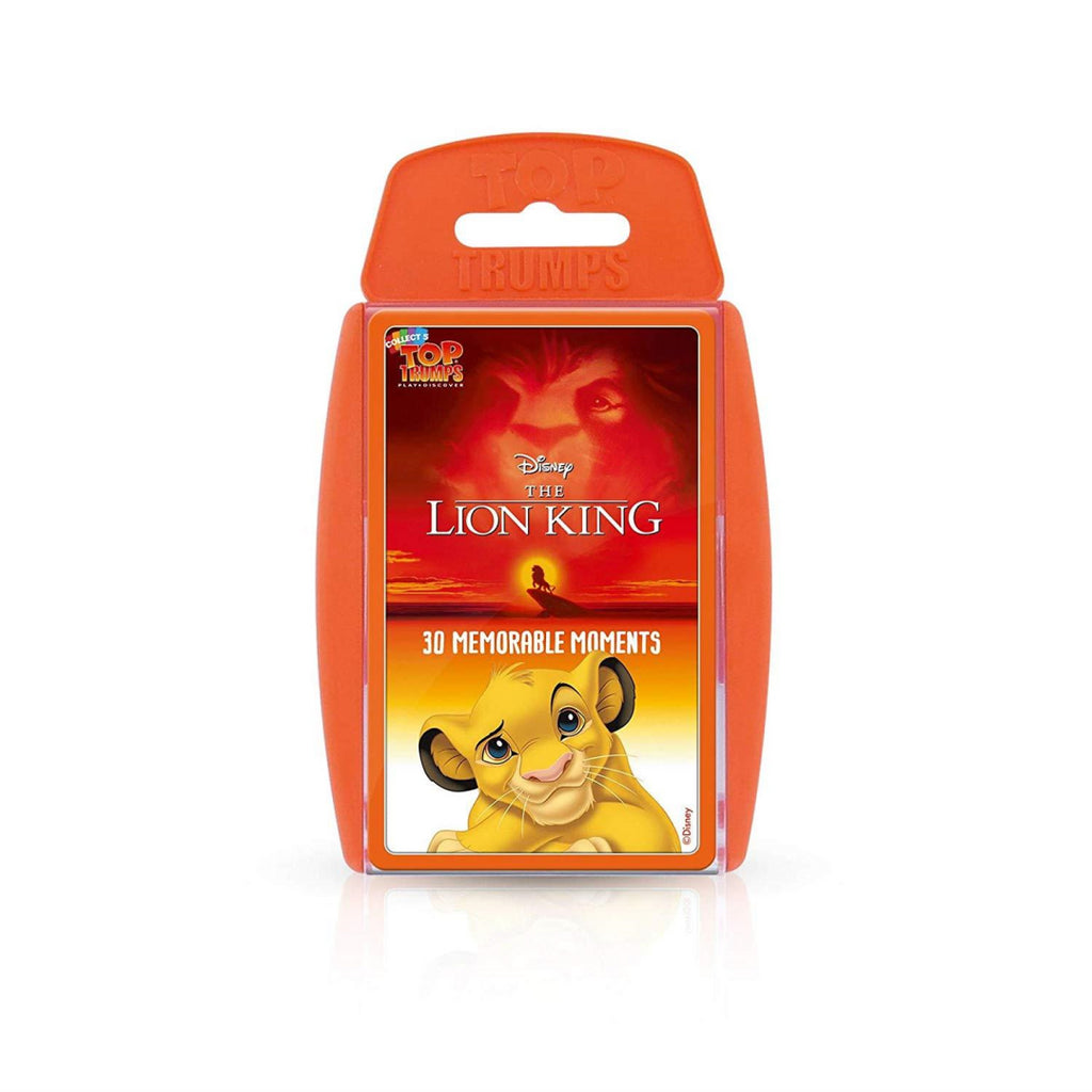 Lion King Top Trumps Card Game - Maqio