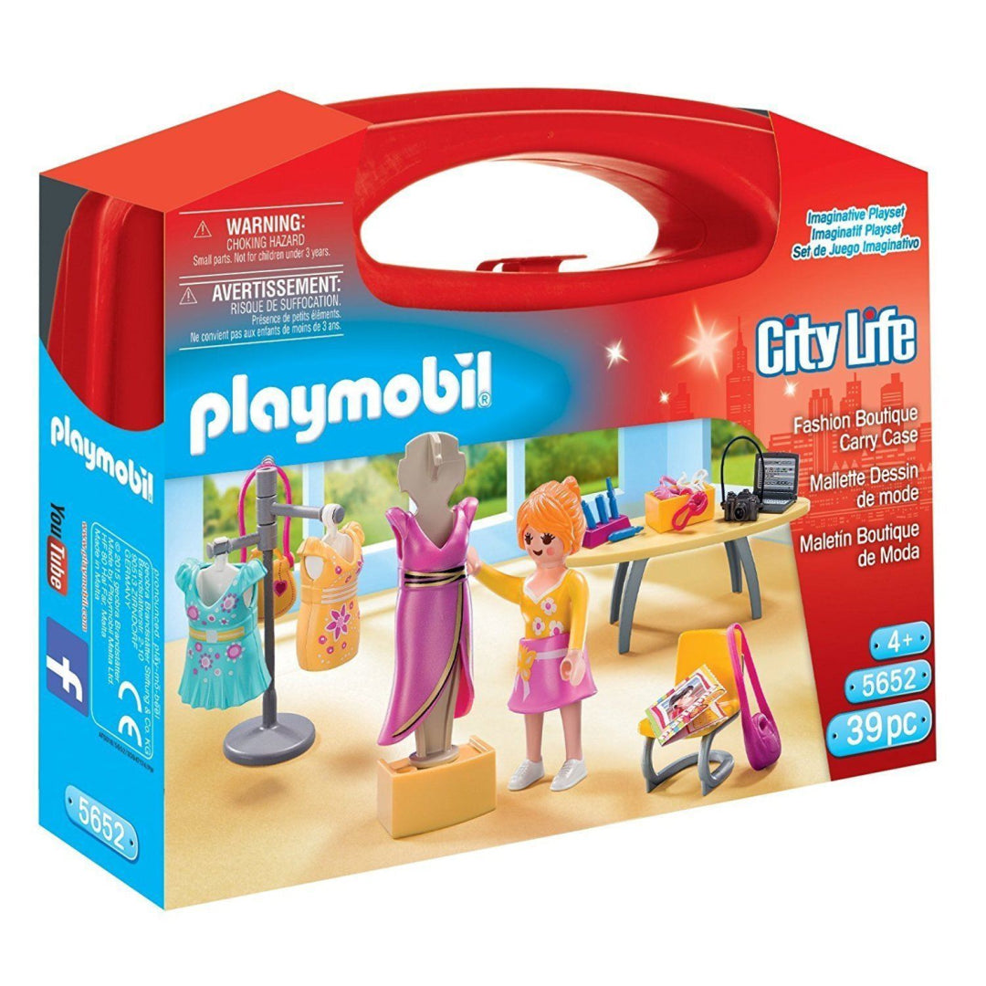 Playmobil 5652 City Life Collectable Large Fashion Boutique Carry Case Toy