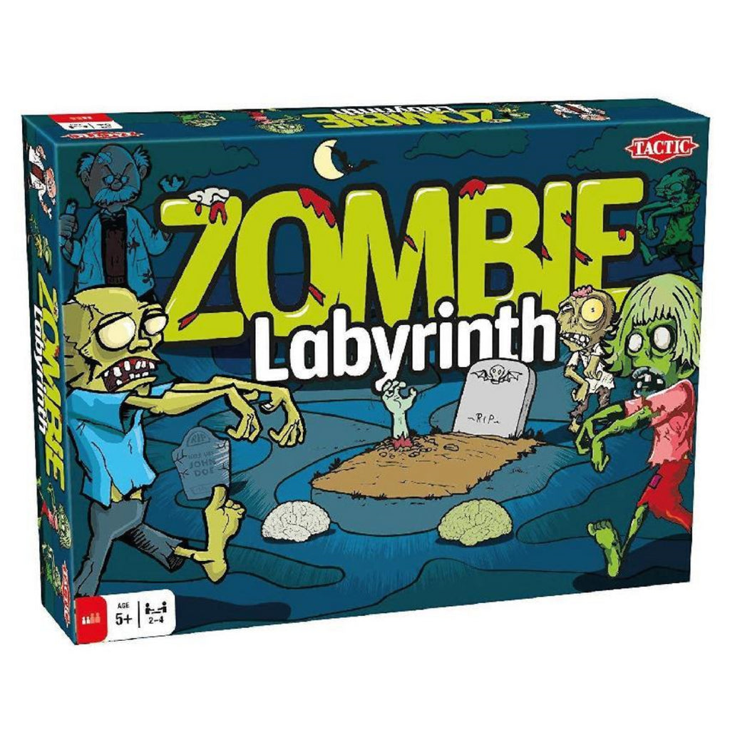 Tactic Games Zombie Labyrinth Board Game - Maqio