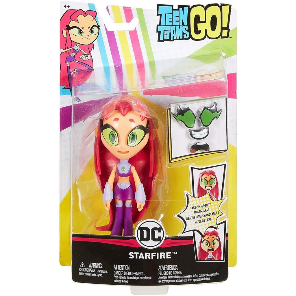 Teen Titans Go! Face Swappers Starfire Figure FPD18 - Maqio