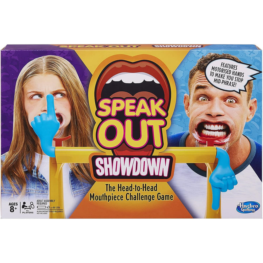 Hasbro Gaming Speak Out Showdown Head to Head Party Game E1917 - Maqio
