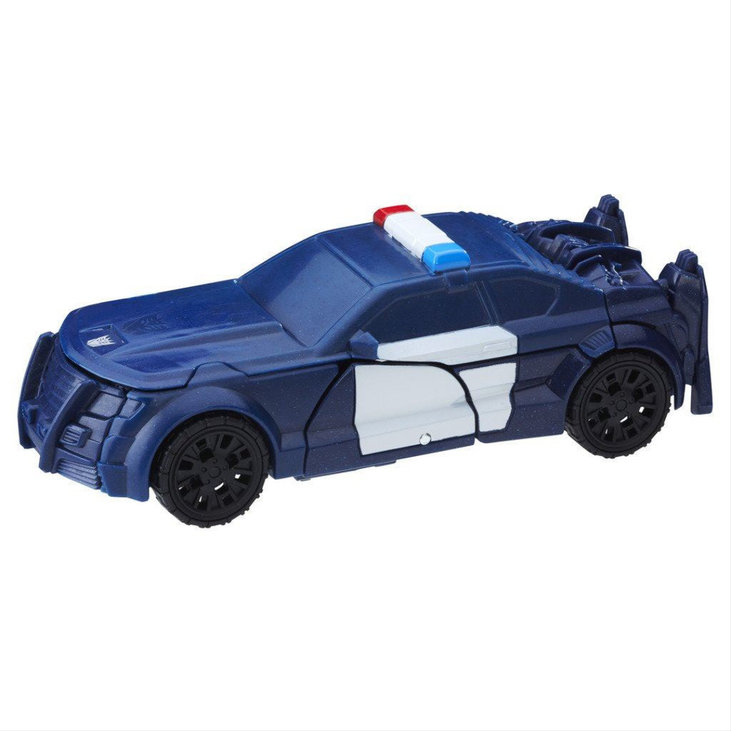 Transformers The Last Knight 1-Step Turbo Changer Barricade Figure - Maqio