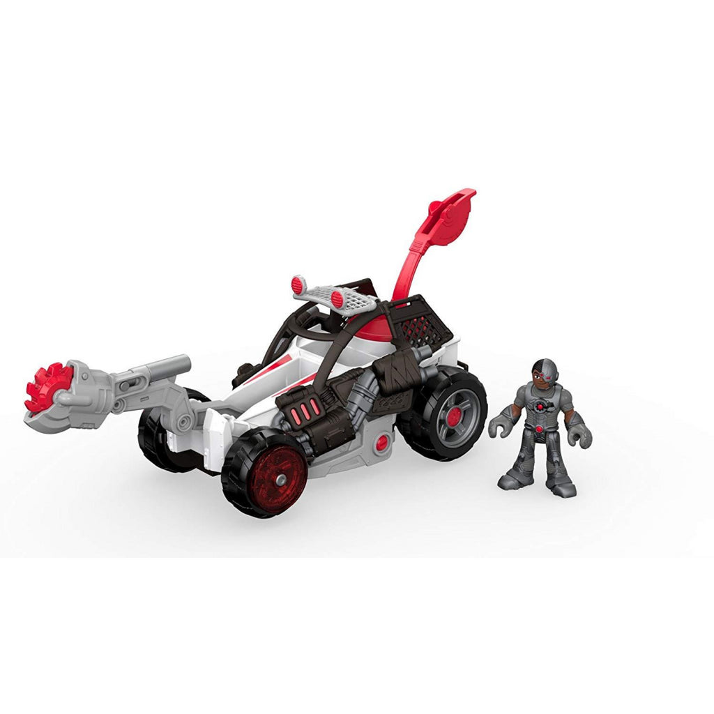 Fisher-Price DRY87 Imaginext Cyborg and Saw Buggy Vehicle Toy Playset - Maqio