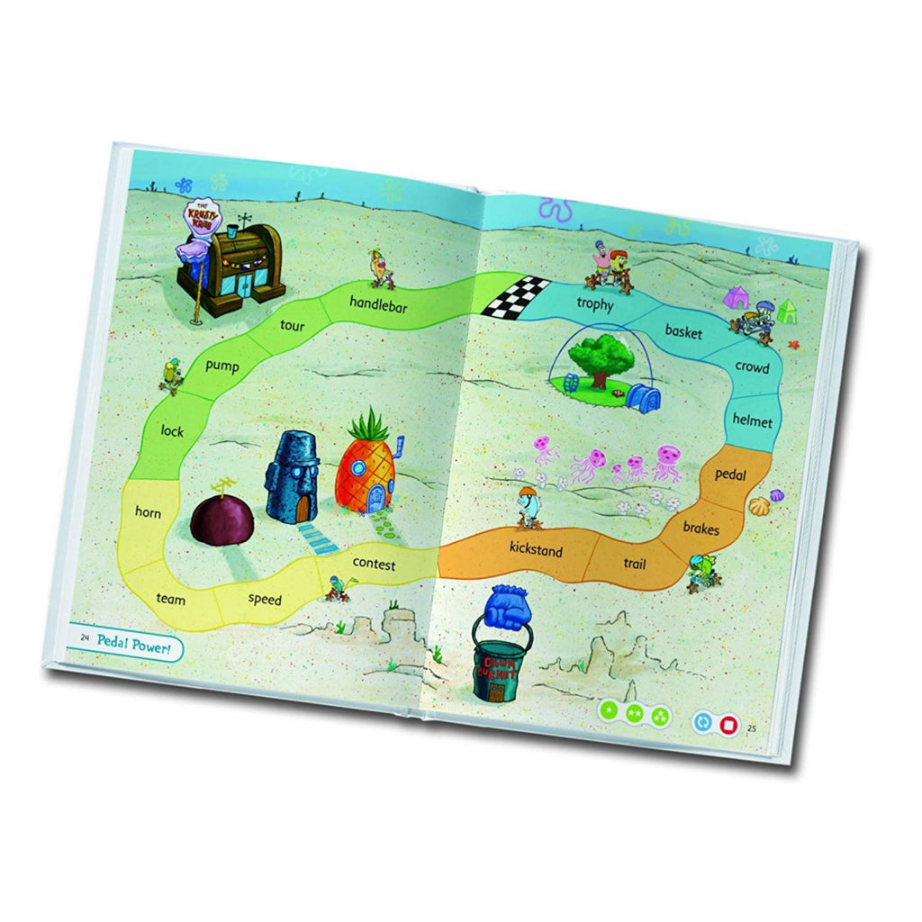 LeapFrog Tag Book: SpongeBob SquarePants The Tour de Bikini Bottom - Maqio