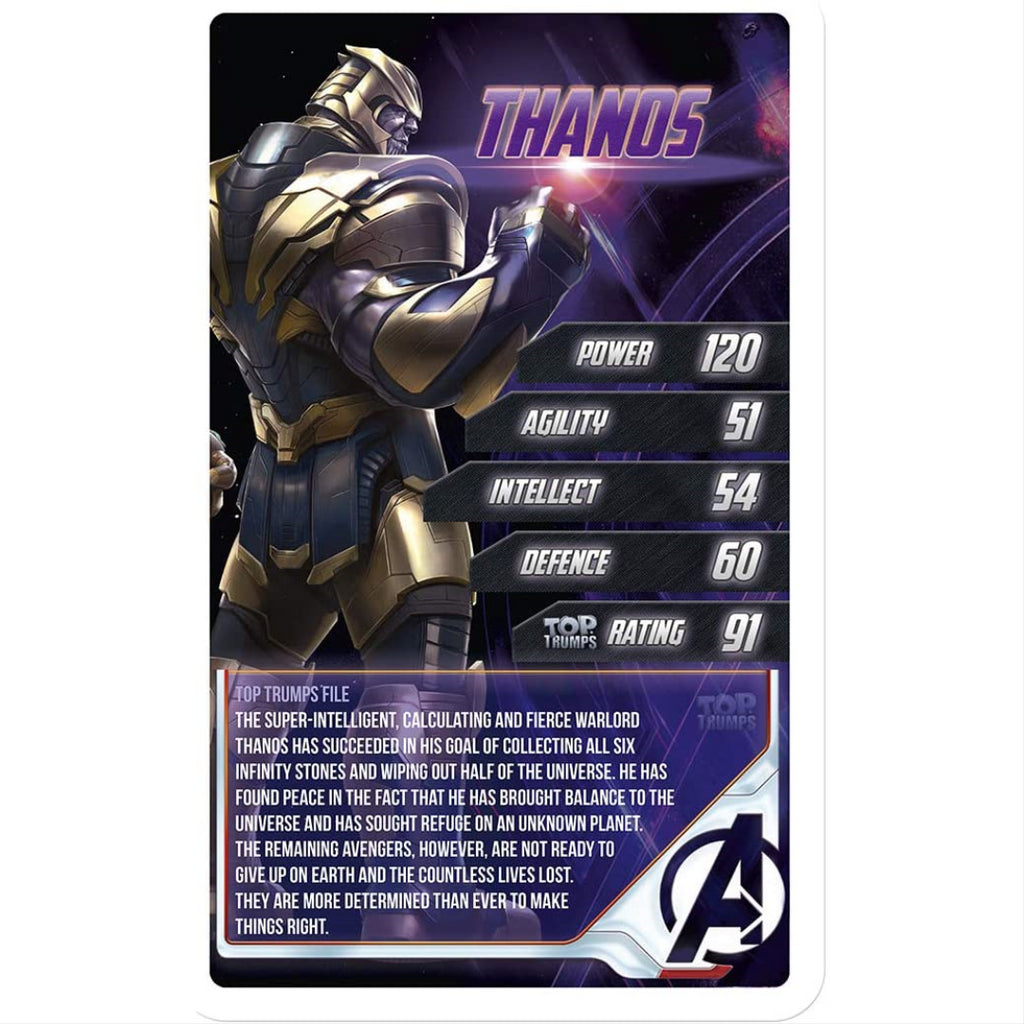 Top Trumps Cards - Marvel Avengers End Game 038904 - Maqio