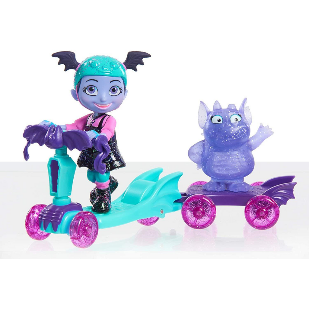 Vampirina - Vampirina and Gregoria Spooky Scooter Set 78116 - Maqio