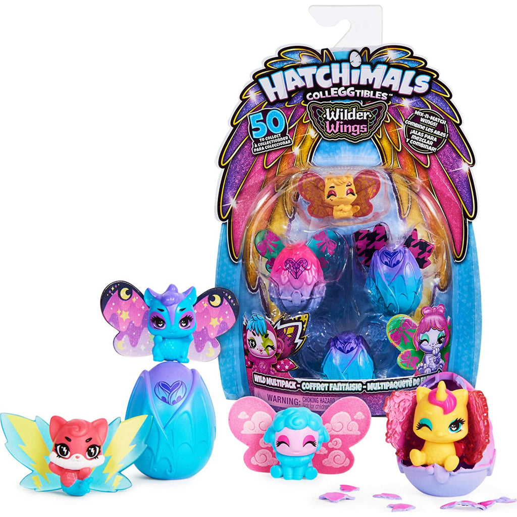Hatchimals CollEGGtibles Wilder Wings Multipack Blind Bag - Maqio