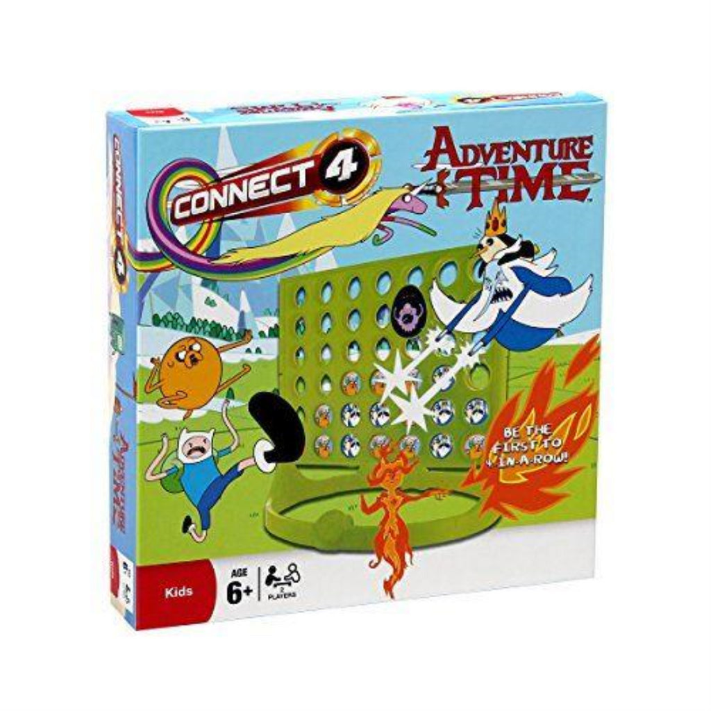Adventure Time 025751 Connect 4 Board Game - Maqio