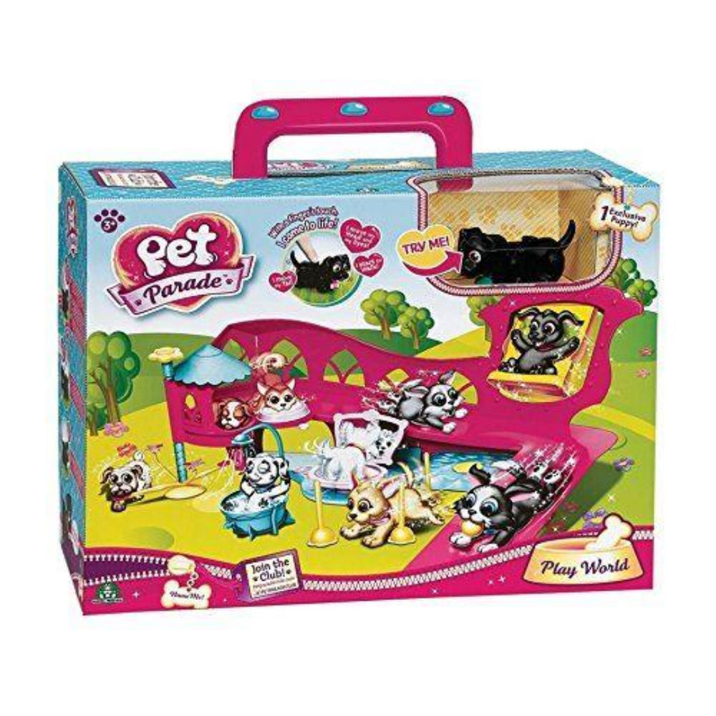 Pet Parade Deluxe Play World Toy - Maqio