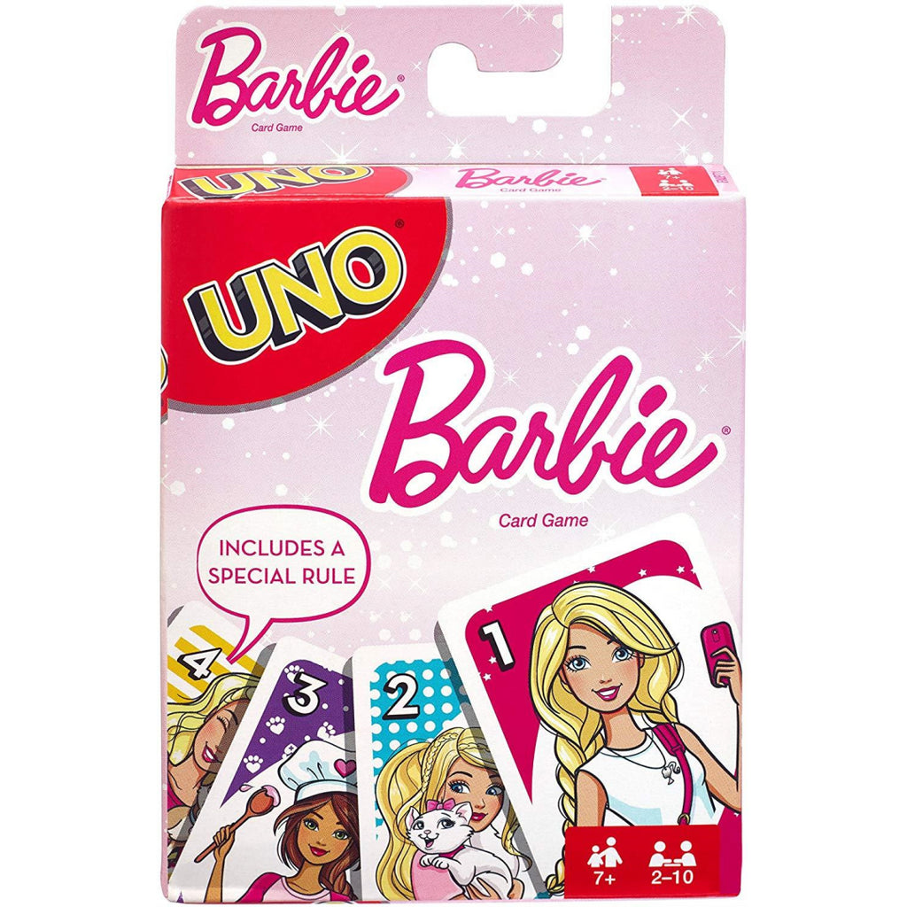 Mattel UNO Barbie Card Game FMP71 - Maqio