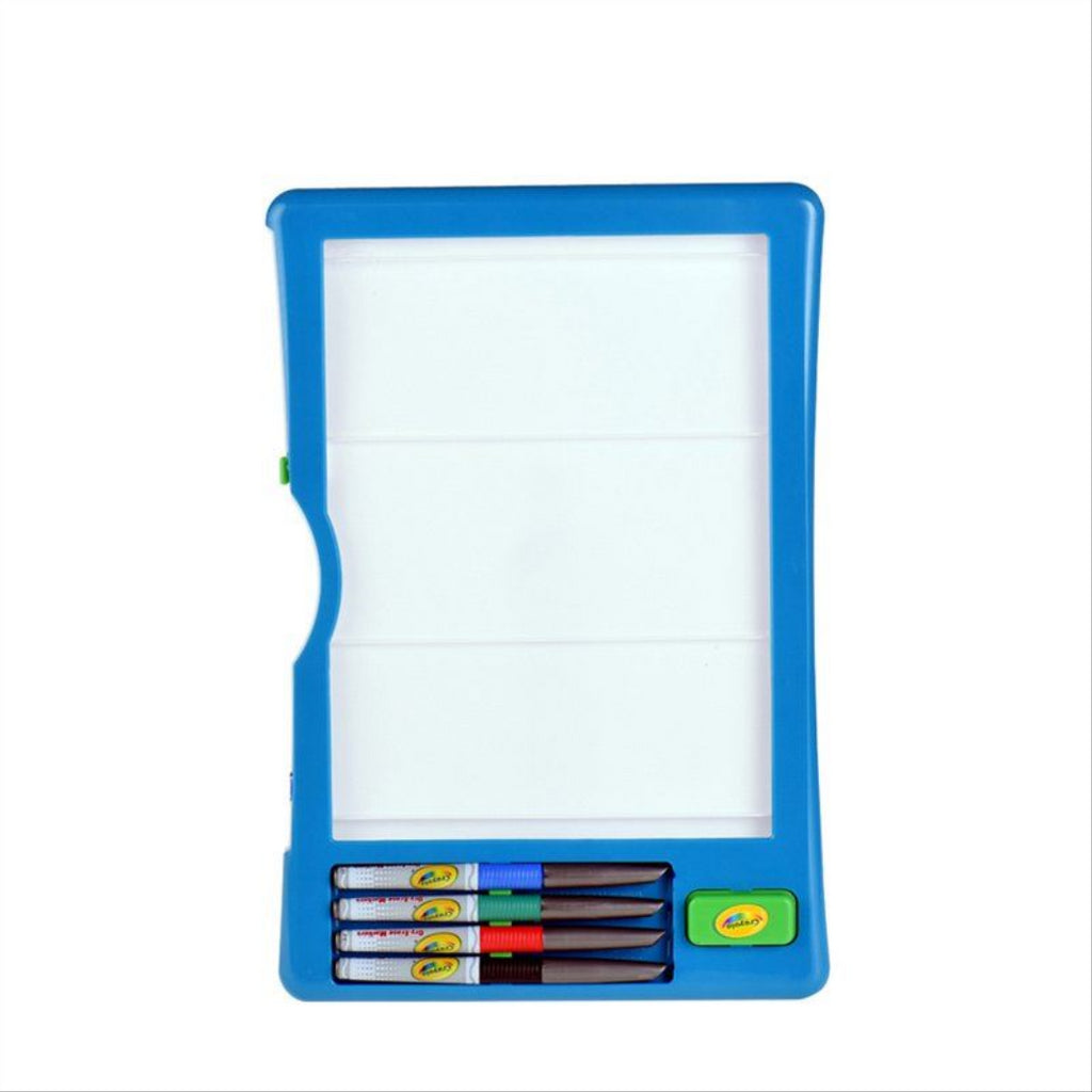 Crayola 8632 Dry Erase Activity Center Zany Play Edition - Maqio