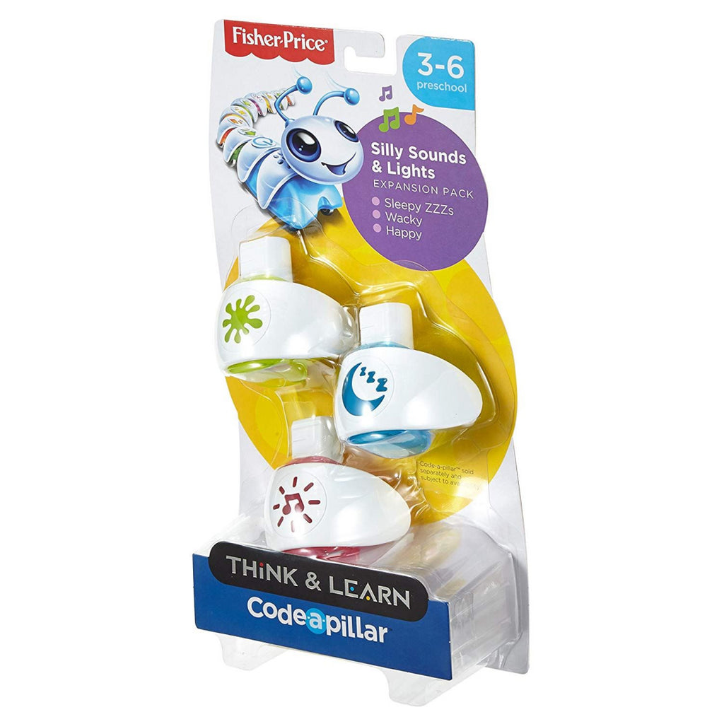 Fisher-Price DPP38 Think & Learn Code-a-Pillar Silly Sounds & Lights Expansion P - Maqio