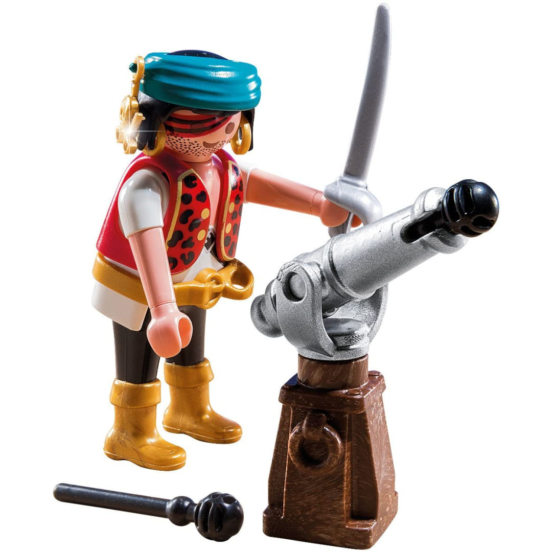 Playmobil specialPLUS Pirate with Cannon 5378