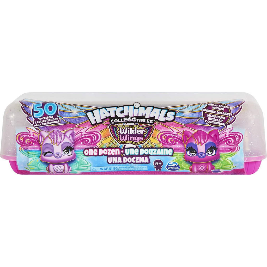 Hatchimals CollEGGtibles Wilder Wings Exclusive 12 Pack Egg Carton 6059068 - Maqio