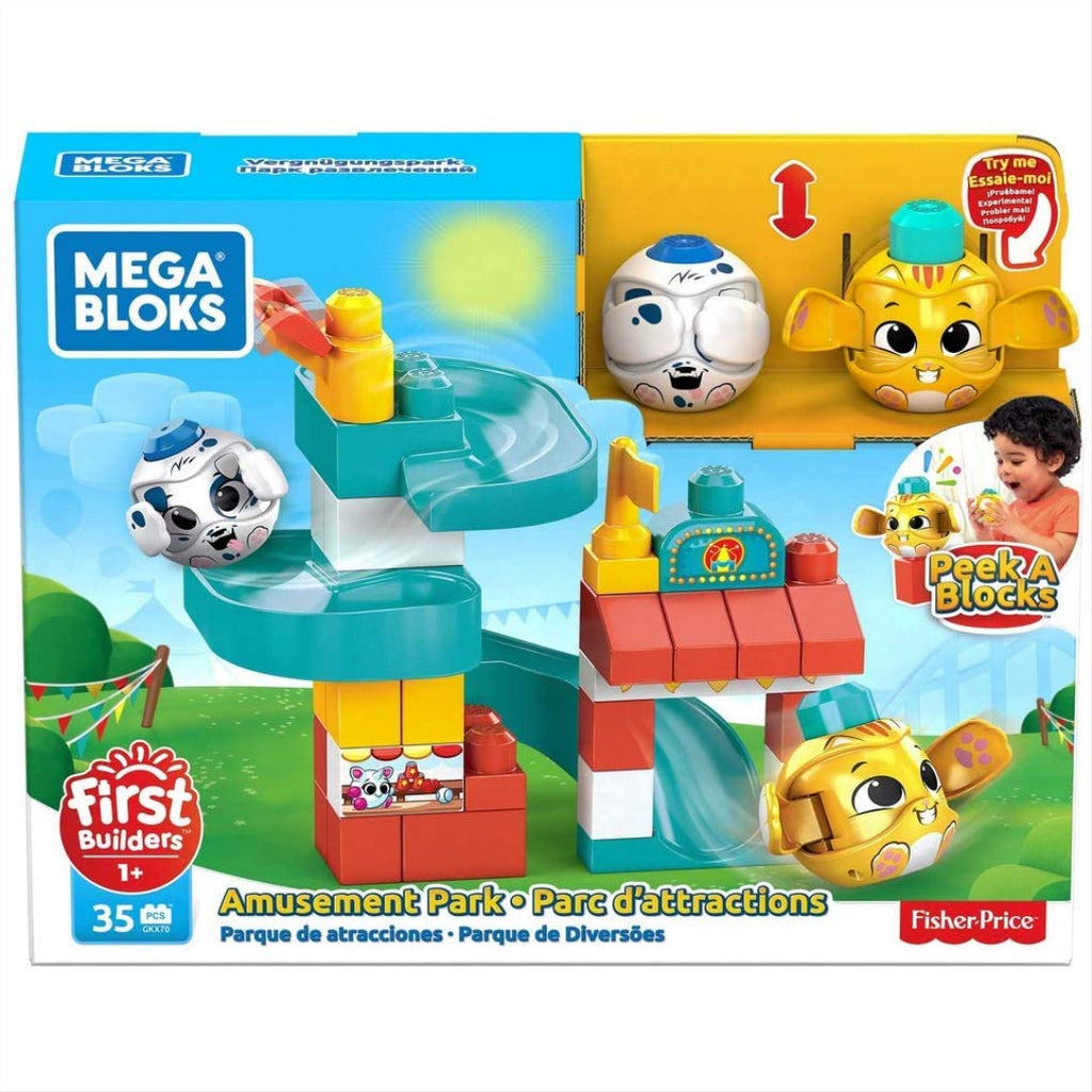 Mega Bloks First Builders Amusement Park GKX70 - Maqio
