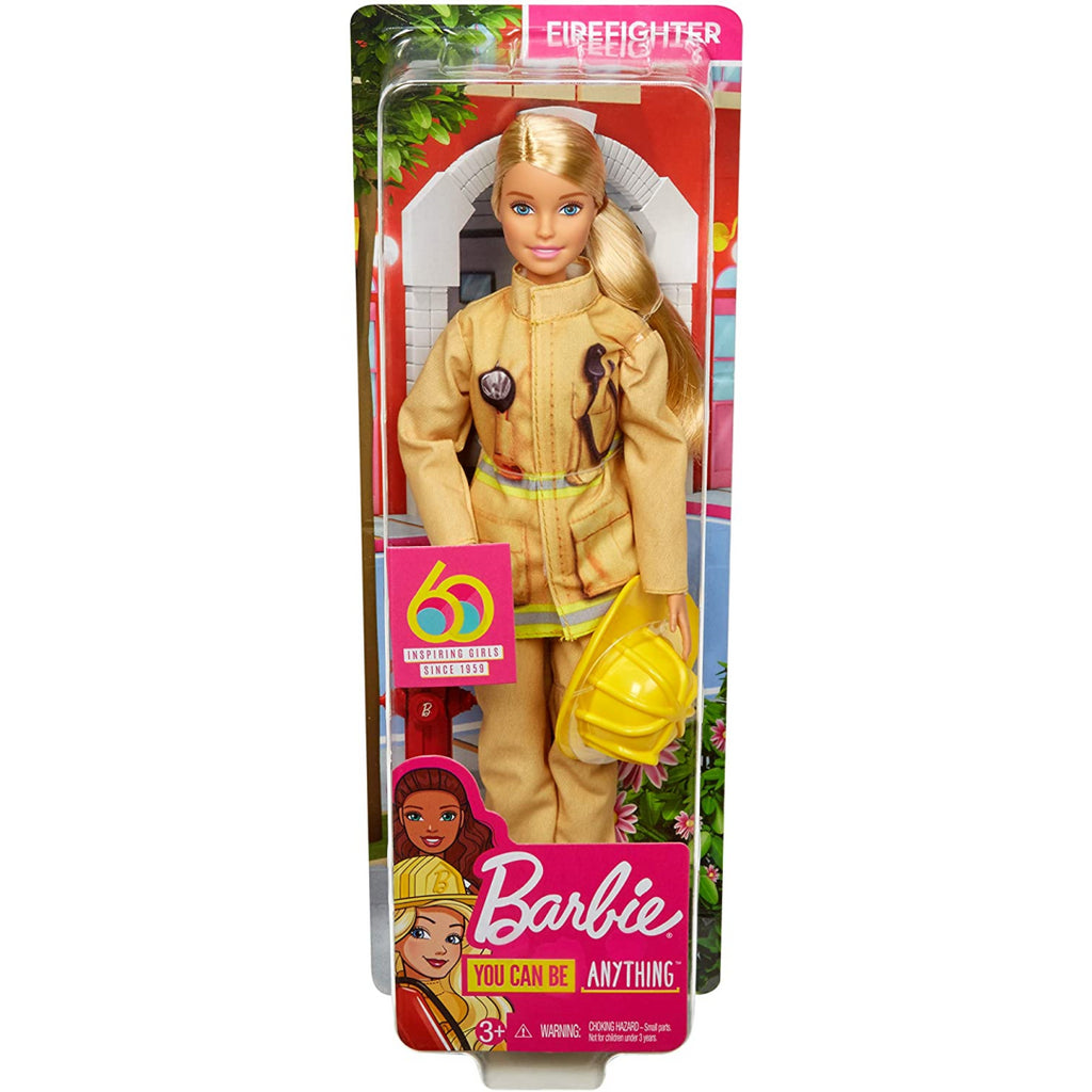 Barbie Career Firefighter 60th Anniversary Doll GFX29 - Maqio