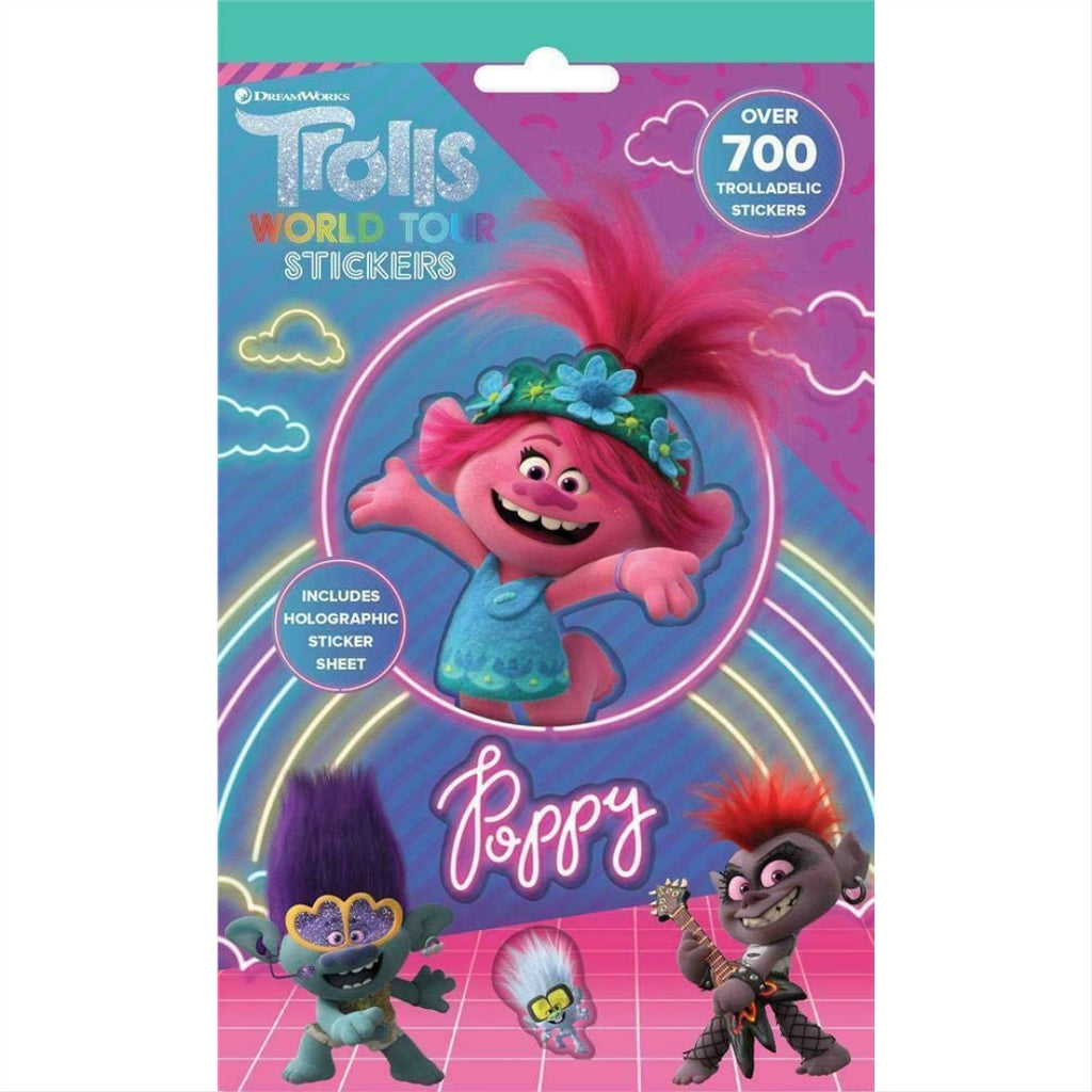 Trolls Movie - 700 Stickers - Maqio