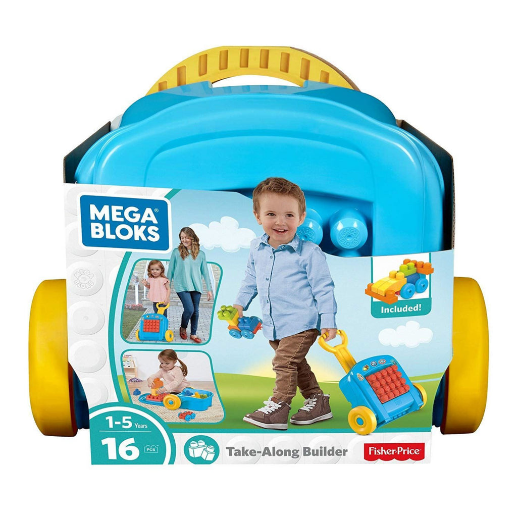 Fisher Price Mega Bloks Building Basics Take-Along Builder - Maqio