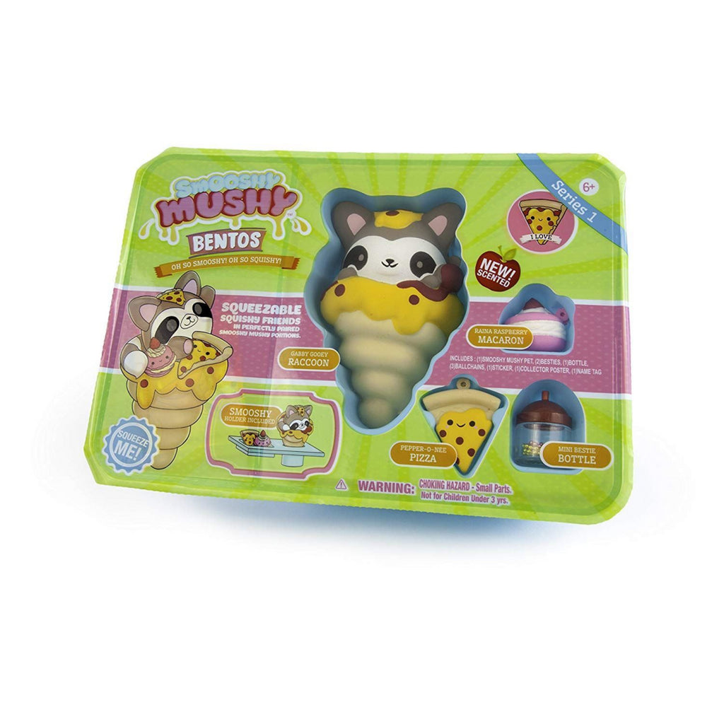 Smooshy Mushy Bento Box - GABBY GOOEY RACCOON (34848) - Maqio