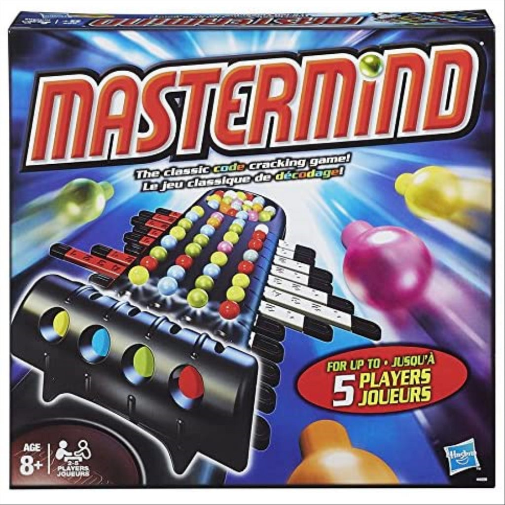 Hasbro Mastermind - Brainteasing Puzzle Game for up to 5 players! - Maqio