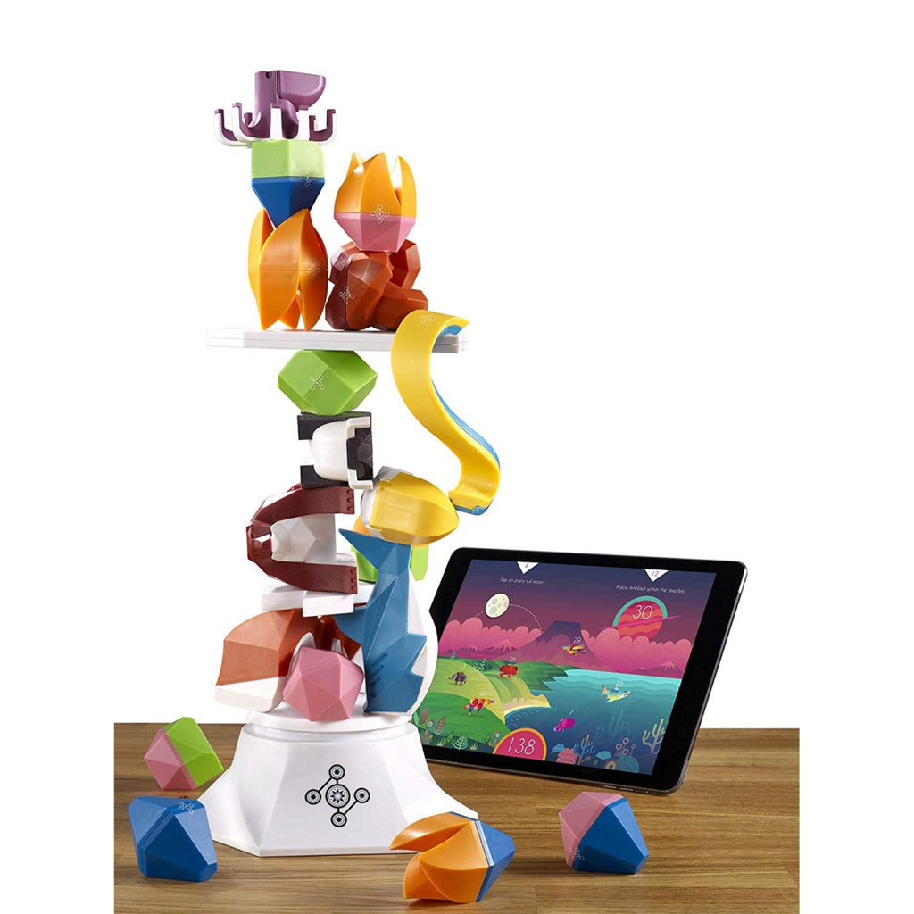Beasts of Balance Digital Tabletop Hybrid Stacking Family Game - Maqio