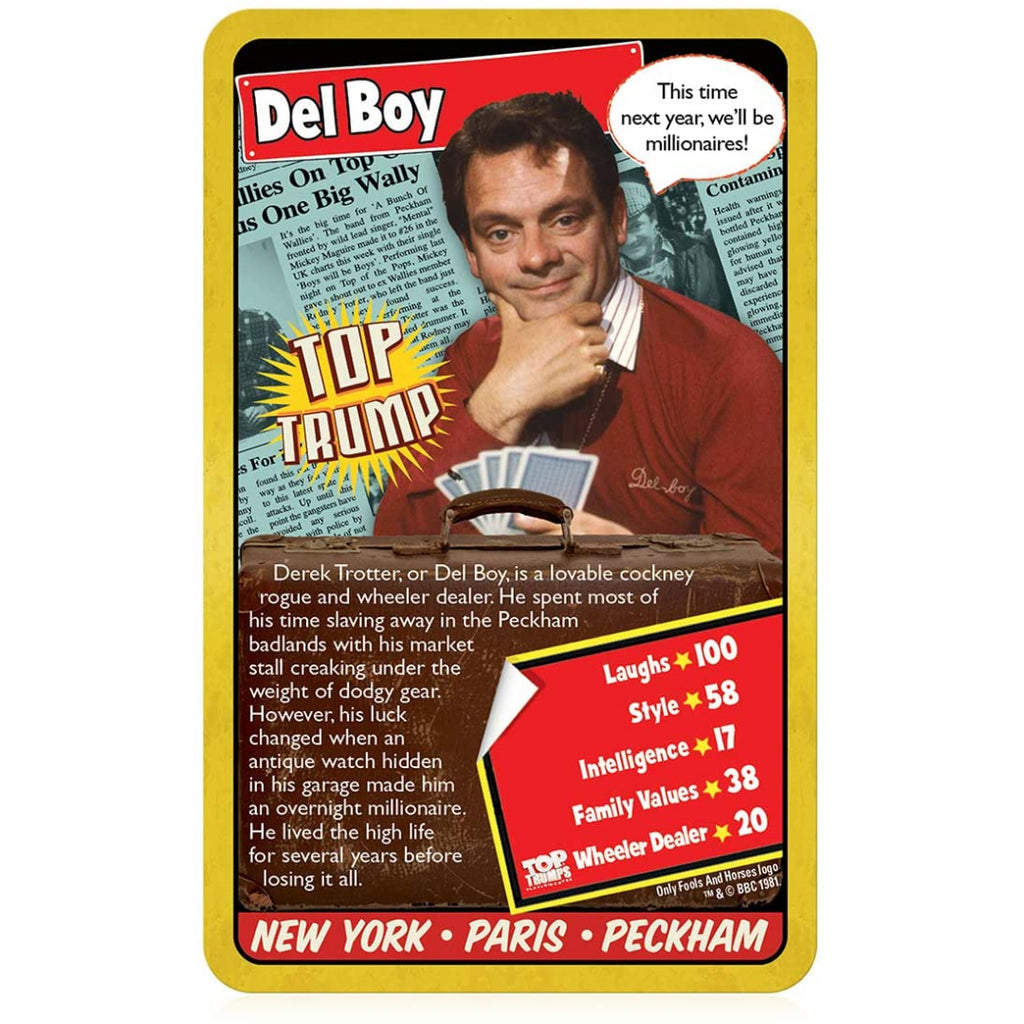 Top Trumps Cards - Only Fools and Horses 018265 - Maqio