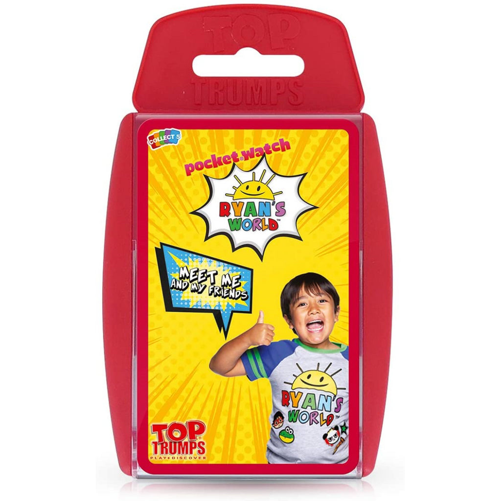 Top Trumps Cards - Ryan's World 039673 - Maqio