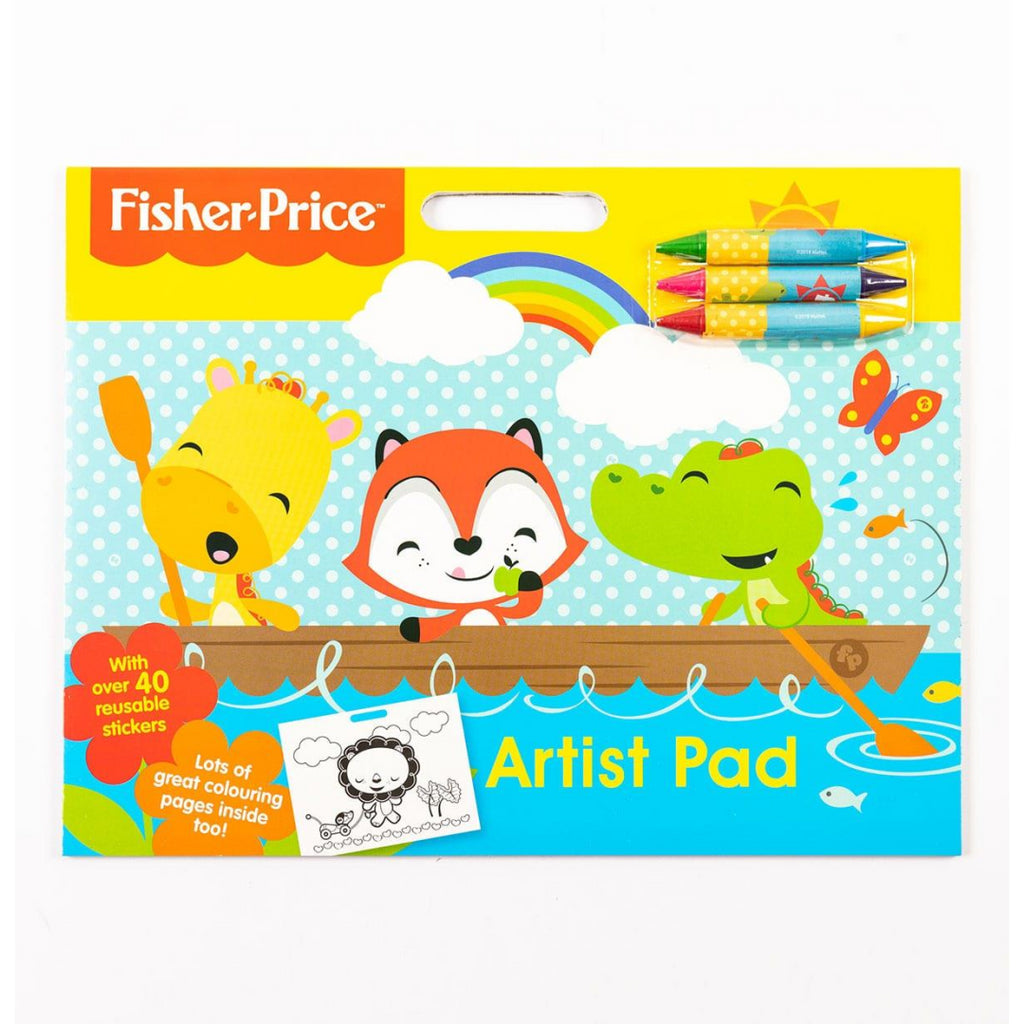 Fisher Price Artist Colouring Pad 2956 - Maqio