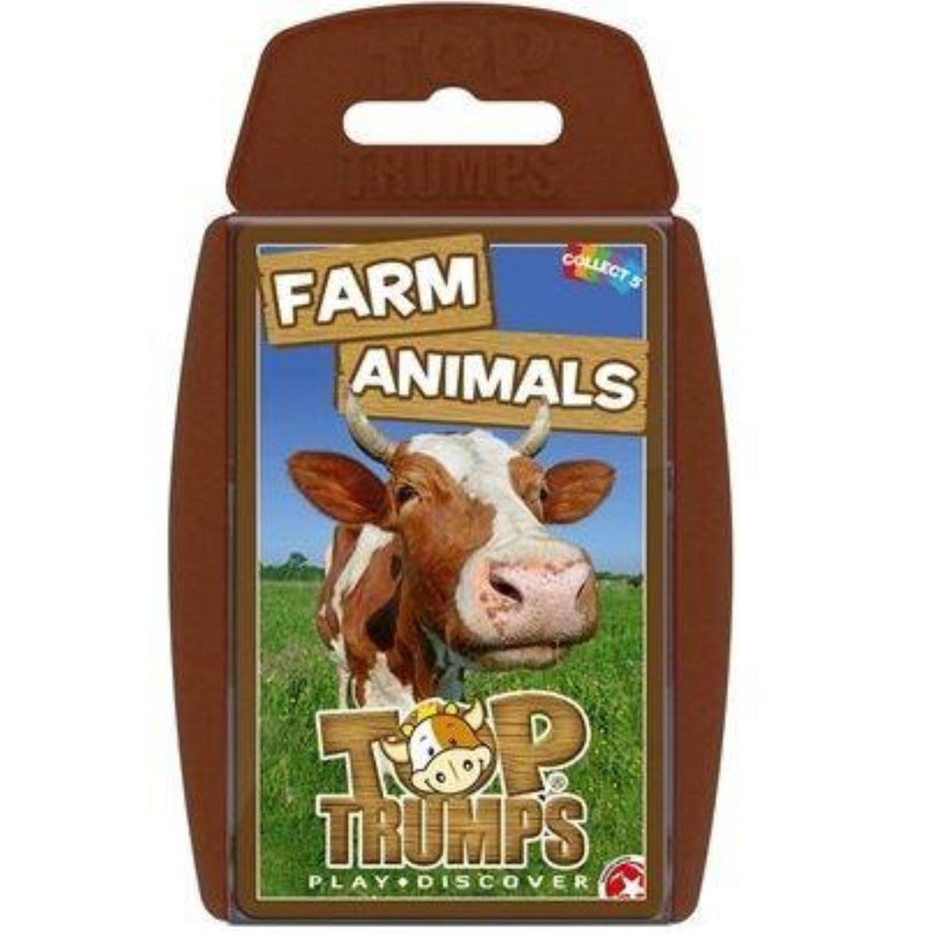 Top Trumps Farm Animals Card Game - Maqio