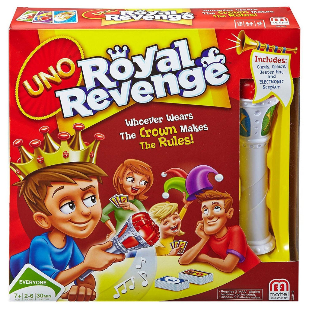 Uno Card Game – CGH10 – Royal Revenge - Maqio