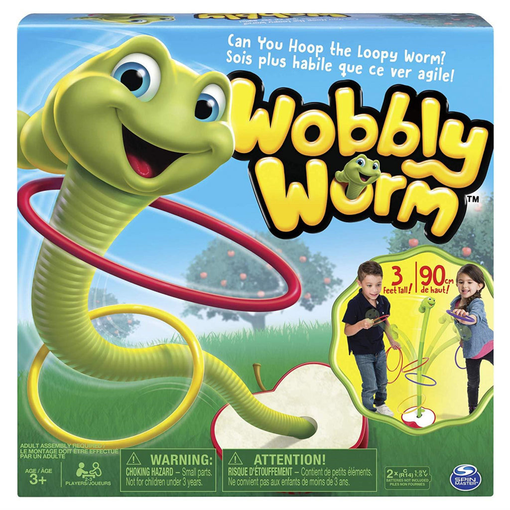 Spin Master Wobbly Worm Electronic Kids Game - Maqio