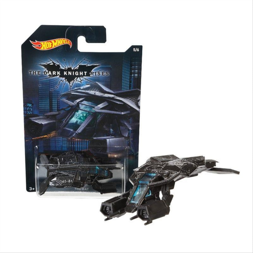 Batman Hot Wheels Diecast Vehicles 1/64 Wave A Assortment The Dark Knight Rises The Bat SHIPPED FROM ITALY by Hot Wheels - Maqio