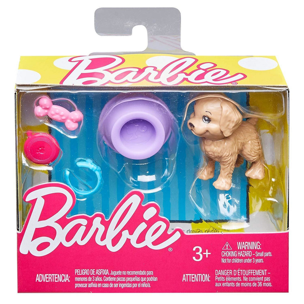 Mattel Barbie FHY70 Small Accessory Set Puppy (FJD56) - Maqio