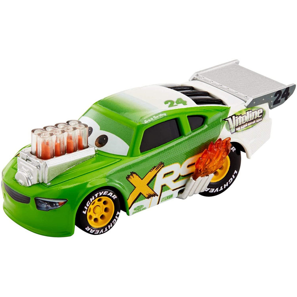 Disney Pixar's Cars XRS Drag Racing Brick Yardley 1:55 Scale Die-cast Vehicle - Maqio
