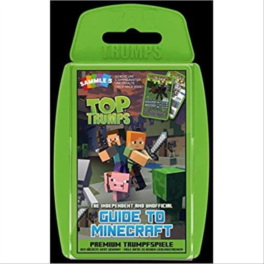 Top Trumps The Independent & Unofficial Guide to Minecraft - Maqio