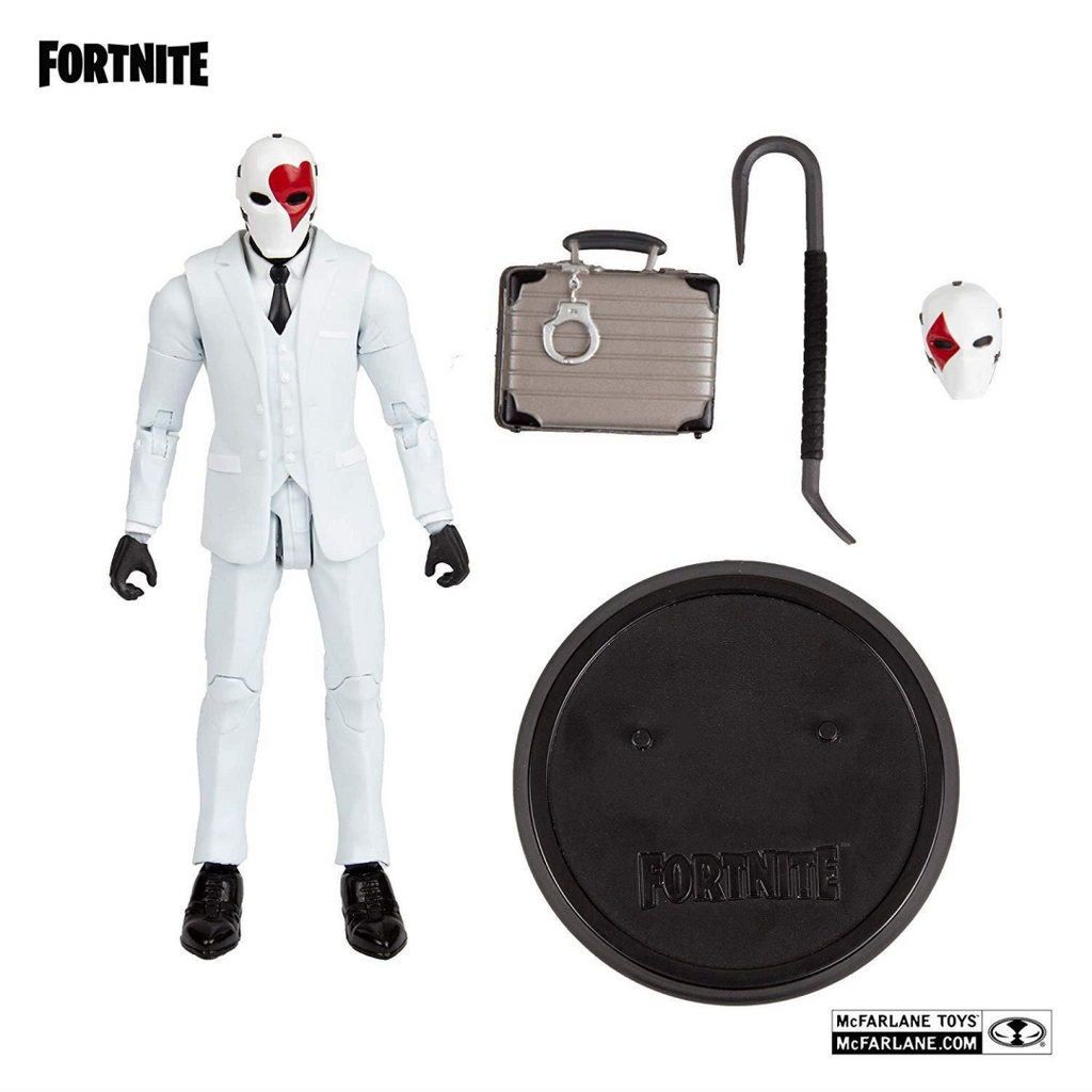 Fortnite Wild Card (Red) Collectable Action Figure 10613 - Maqio