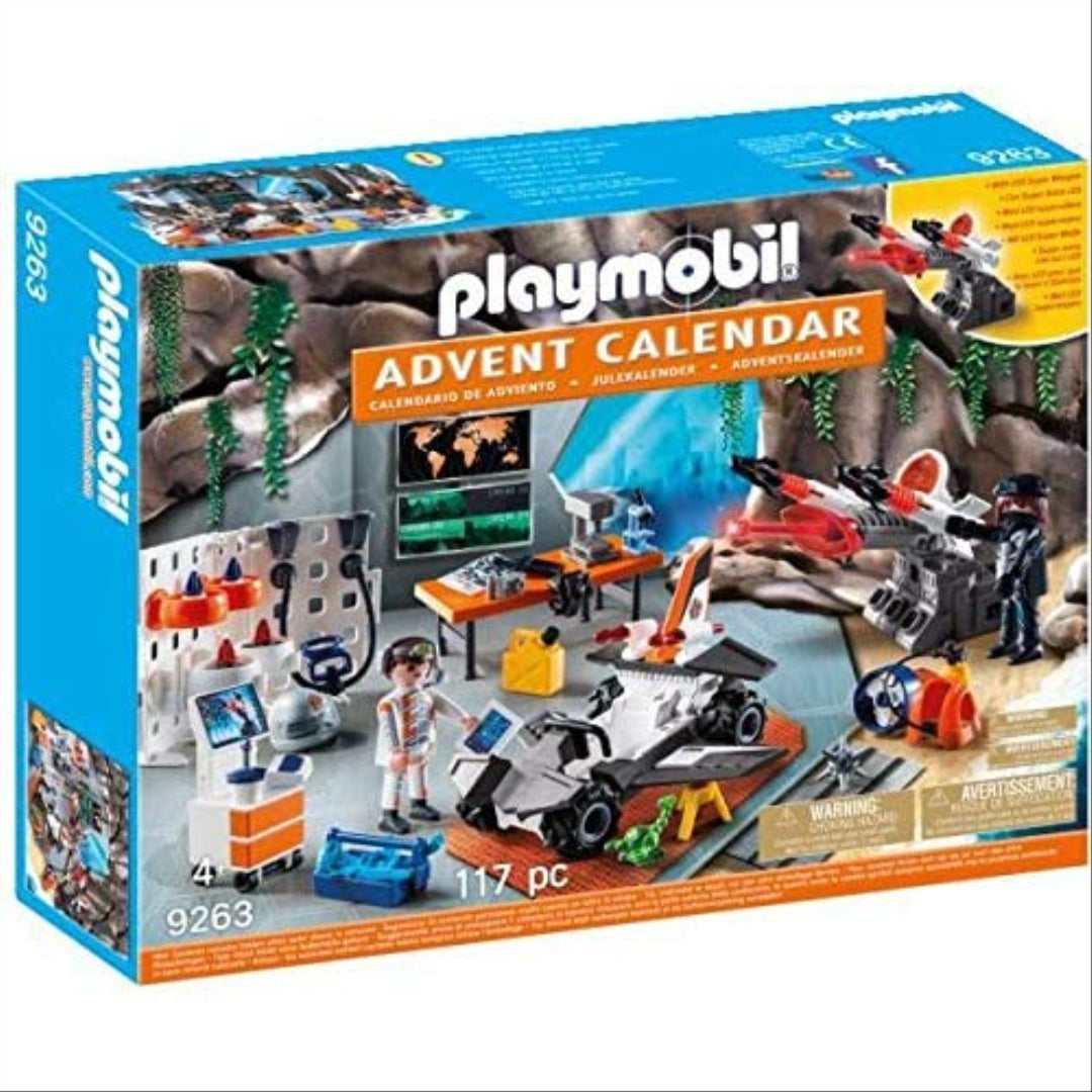 Playmobil Advent Calendar Top Agents with LED Super Weapon 9263