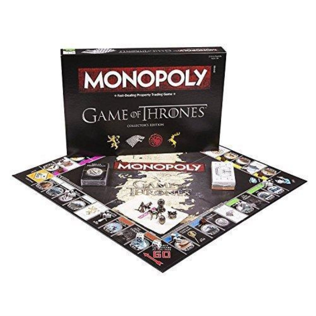 Game of Thrones Monopoly Collector's Edition Family Party Game Board Game - Maqio