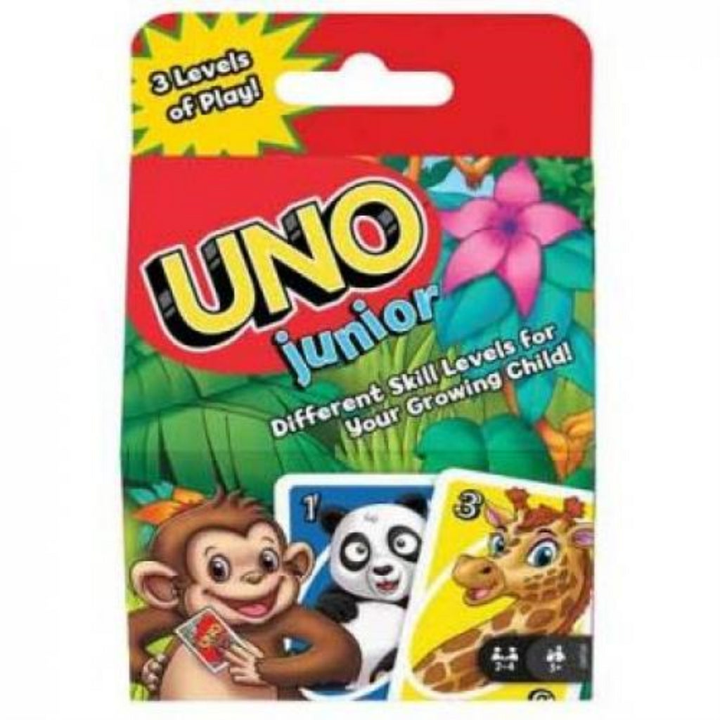 Mattel Games GKF04 UNO Junior (GPM86) - Maqio