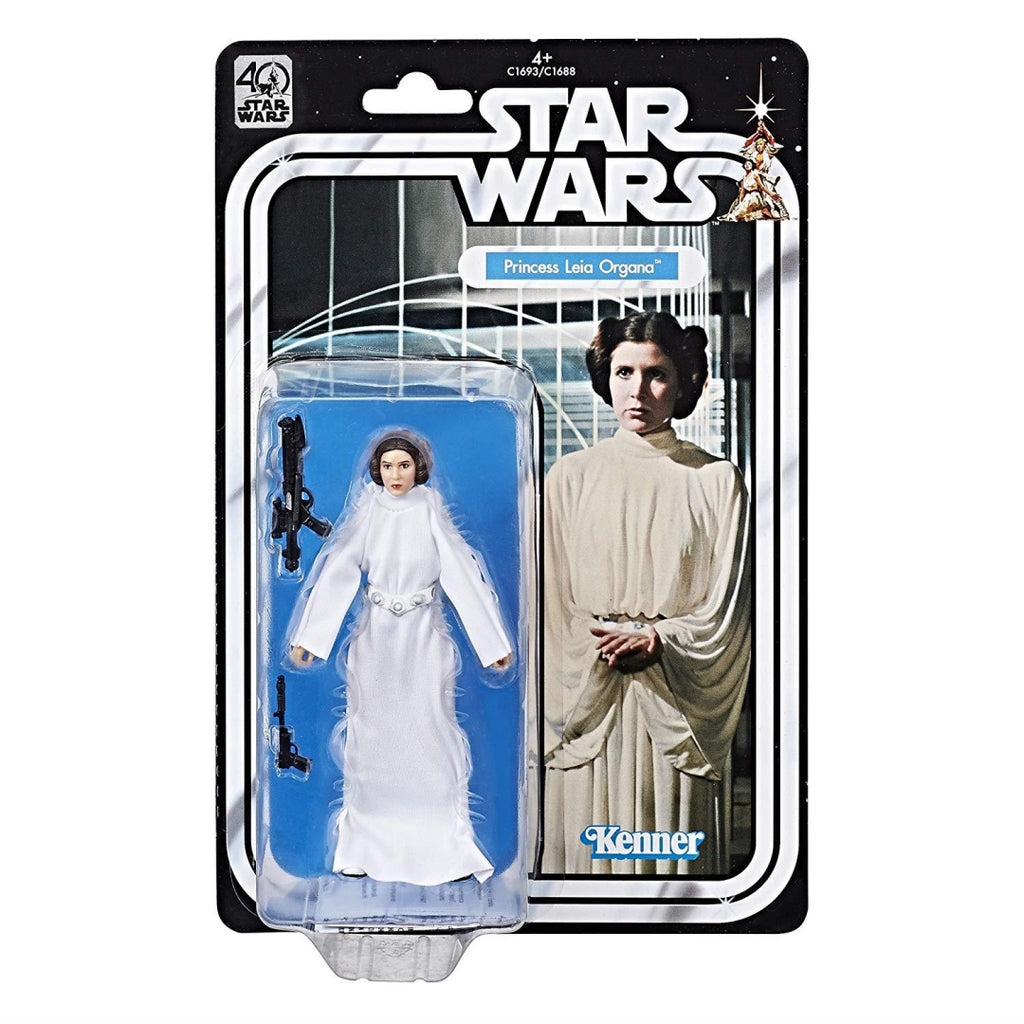 STAR WARS Black Series 40th Anniversary Princess Leia Organa Figure (C1693) - Maqio