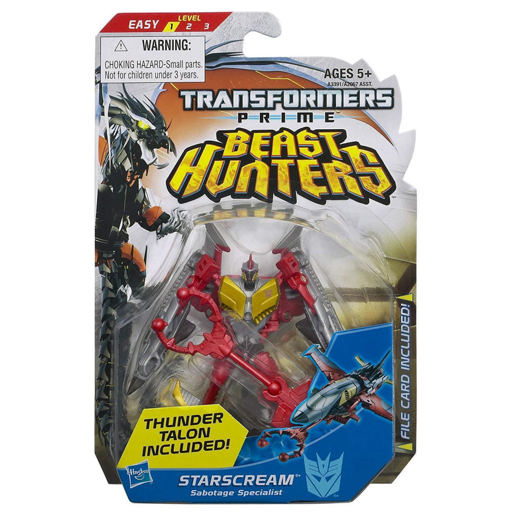 Transformers Prime Beast Hunters Commander Class Starscream Sabotage Specialist - Maqio
