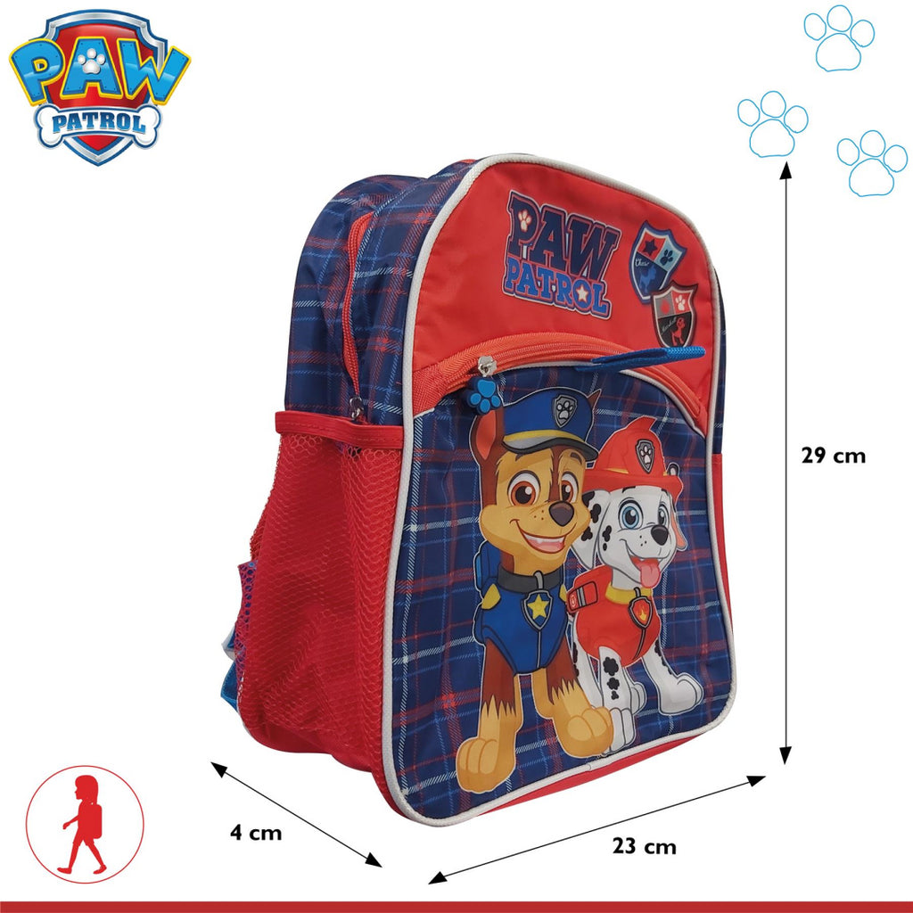 Paw Patrol Chase & Marshall Design School Backpack - Maqio