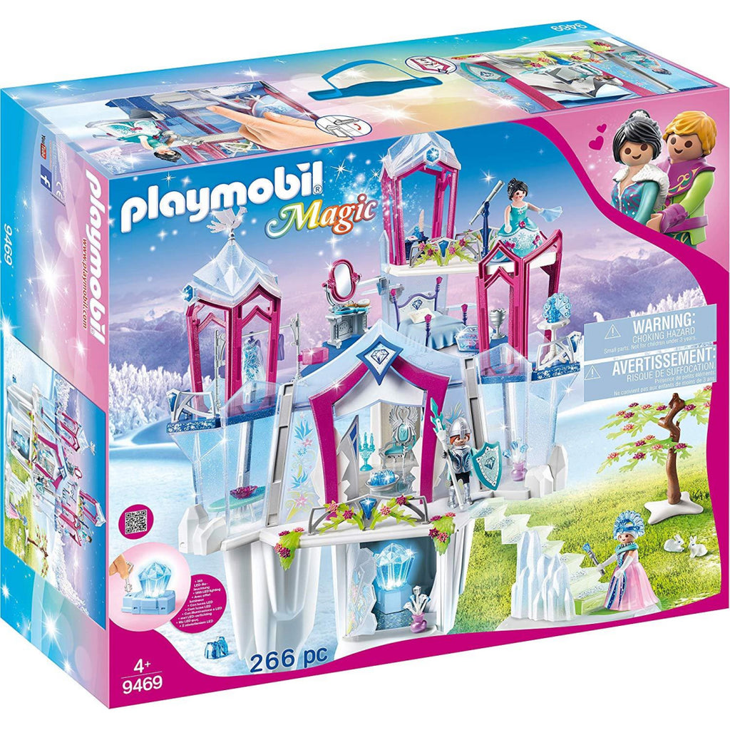 Playmobil 9469 Magic Crystal Palace with Shiny Crystal and Fantasy Figures Toy Playset - Maqio