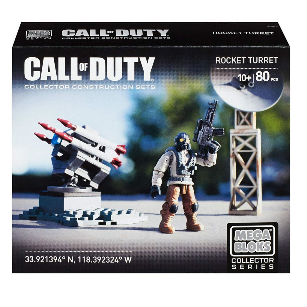 Mega Bloks Call of Duty CNG74 - Rocket Turret Collector Contruction Toy - Maqio
